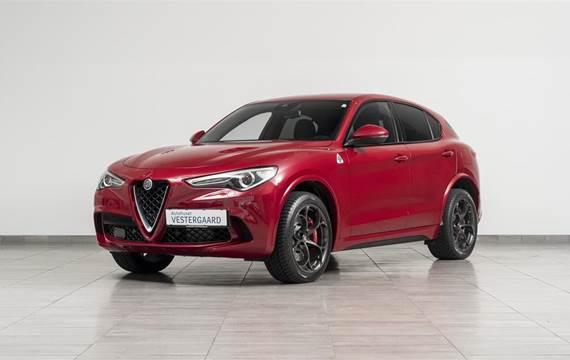 Alfa Romeo Stelvio 2,9 Bi-Turbo V6 Quadrifoglio  5d 8g Aut.