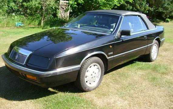 Chrysler LeBaron Turbo Cabriolet 2,5