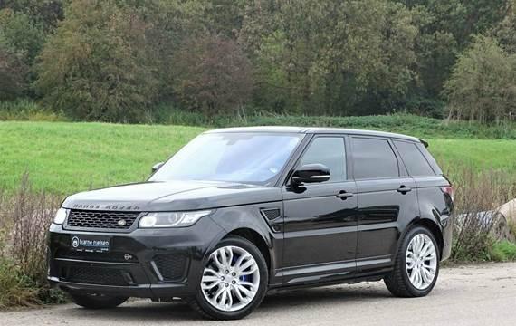 Land Rover Range Rover sport SCV8 SVR aut. 5,0