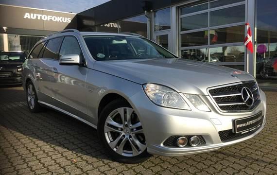Mercedes E350 CDi stc. aut. BE 3,0