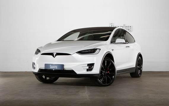 Tesla Model X P90D Ludicrous 7prs