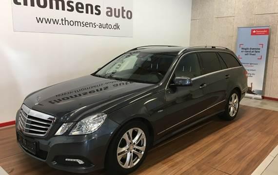 Mercedes E350 CDi Avantgarde stc. aut. 4-M 3,0