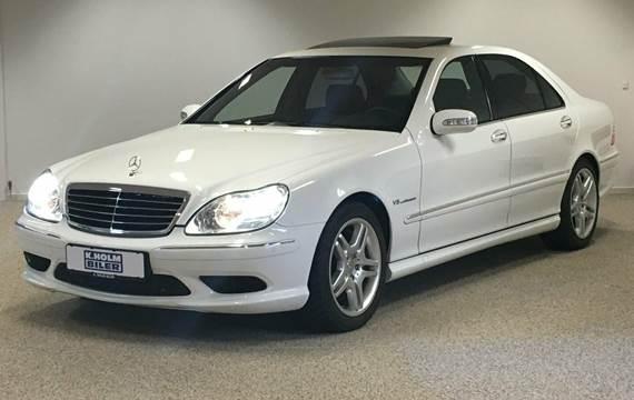 Mercedes S55 AMG aut. lang 5,4