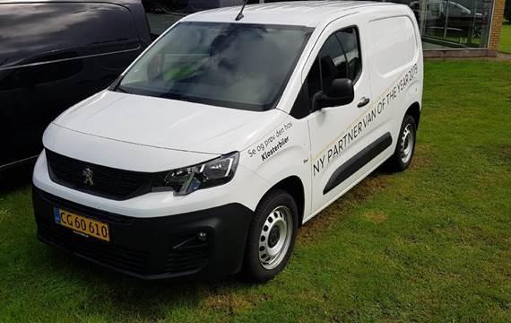 Peugeot Partner L1 V2 1,5 BlueHDi Ultimate Launch  Van