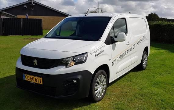 Peugeot Partner L2 V2 1,5 BlueHDi Ultimate Launch  Van
