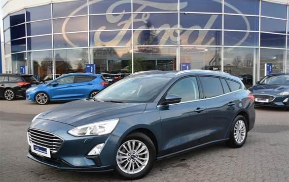 Ford Focus EcoBoost Titanium  Stc 8g Aut. 1,0
