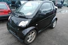 Smart City Coupé Cabrio Passion 55 aut. 0,6