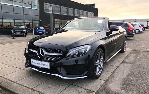 Mercedes C180 180  9G-Tronic  Cabr. 9g Aut. 1,6