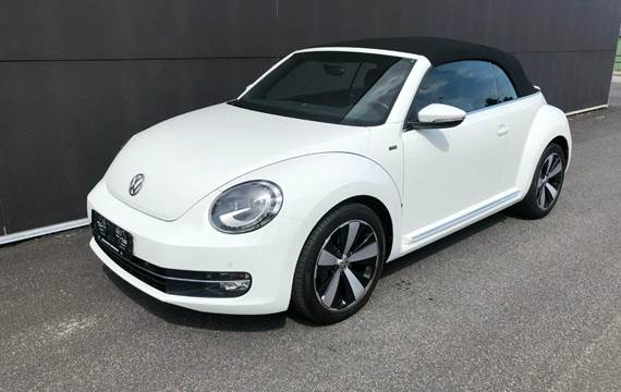 VW The Beetle TSi 105 Design Cabriolet DSG 1,2