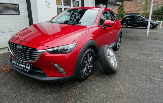 Mazda CX-3 Sky-G 150 Optimum aut. AWD Van 2,0