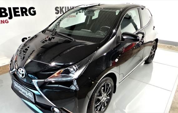 Toyota Aygo VVT-i x-black II 1,0