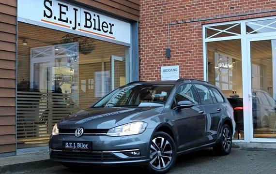 VW Golf VII TDi 115 IQ.Drive Variant DSG 1,6