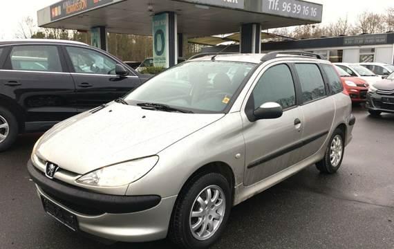 Peugeot 206 XRE SW 1,4