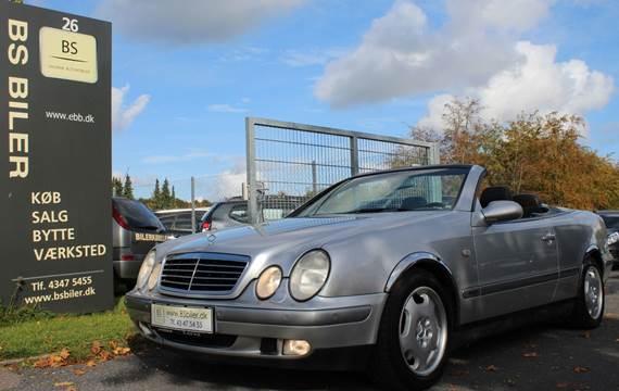 Mercedes CLK230 Komp. Cabriolet aut. 2,3