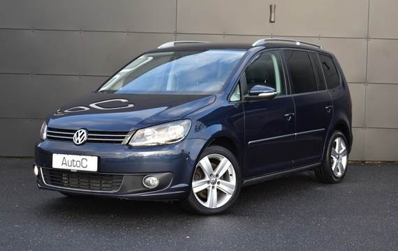 VW Touran TDi 177 Highline DSG 7prs 2,0