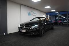 Mercedes E350 BlueTEC AMG Line Cabriolet aut 3,0