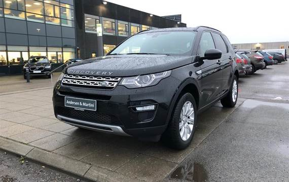 Land Rover Discovery Sport SD4 HSE 4x4  5d 9g Aut. 2,2