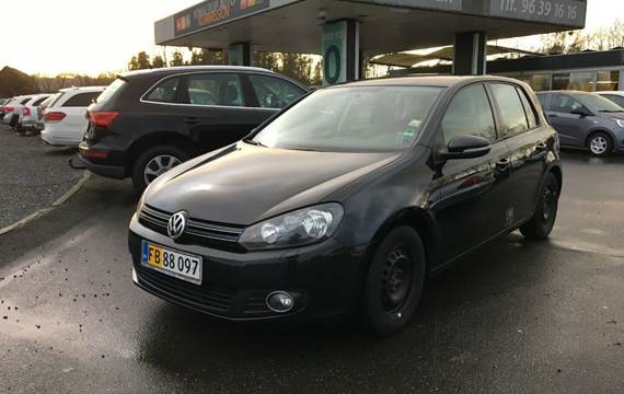 VW Golf VI TDi 105 Trendline DSG BMT Van 1,6