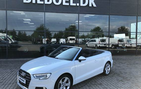 Audi A3 TFSi 190 Sport Cabriolet S-tr. 2,0