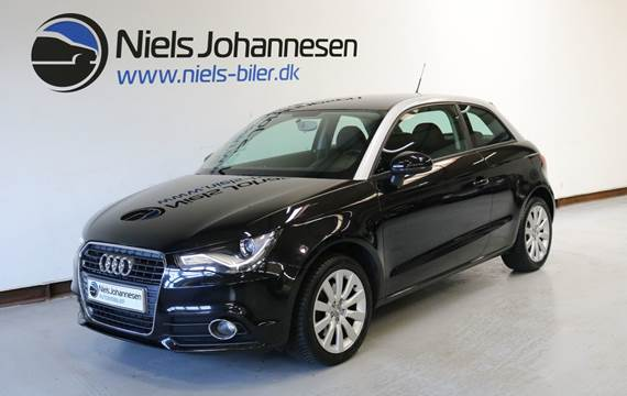 Audi A1 TFSi 122 Ambition S-tr. 1,4