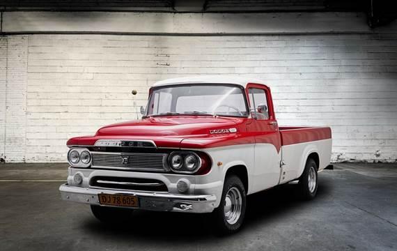Dodge D100 Pick-up 4,3