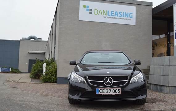 Mercedes E220 CDi Cabriolet aut. 2,2