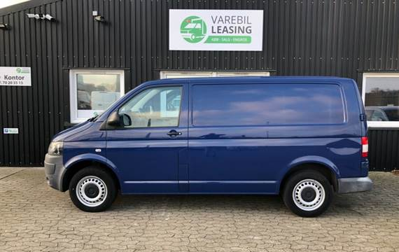 VW Transporter TDi 102 Kassev. kort 2,0