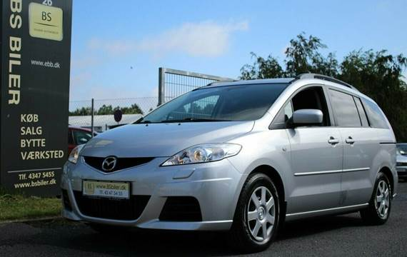 Mazda 5 DE 143 Advance Van 2,0